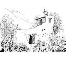 Chapel at DeGrazia's Gallery in the Sun Photographic Print