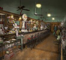 Americana - Soda - The people's soda fountain 1928 by Mike  Savad