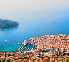 Dubrovnik Aerial View by Artur Bogacki