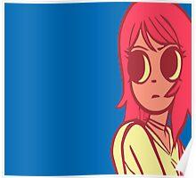 Ramona Flowers Pattern Poster