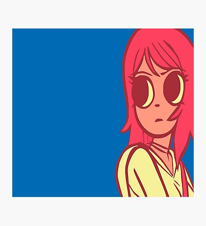 Ramona Flowers Pattern Photographic Print