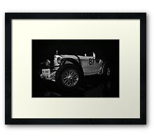 Mercedes Benz classic coupe Framed Print