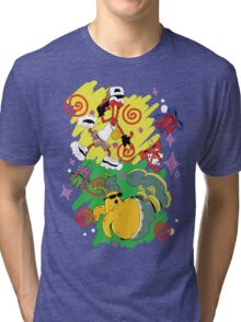 Funky Aliens (Toejam and Earl) Tri-blend T-Shirt