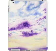Purple Cloud Sky iPad Case/Skin