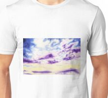 Purple Cloud Sky Unisex T-Shirt
