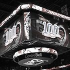Canadiens 100 Season on the new scoreboad by Writhe