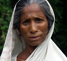 Mising tribe woman, Assam, India by John Mitchell