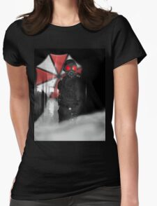 Resident evil : Hunk in Darkness Womens Fitted T-Shirt