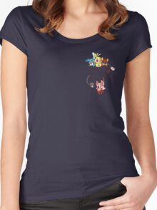 Pocket full of Toys Women's Fitted Scoop T-Shirt