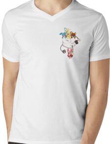 Pocket full of Toys Mens V-Neck T-Shirt