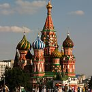 Saint Basil&#x27;s Cathedral, Moscow, Russia by Olga Zvereva