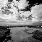 Cronulla Rock Pool by Dave Reid