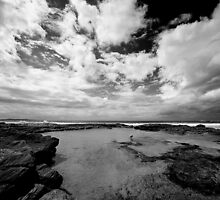 Cronulla Rock Pool by Dave Reid