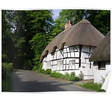 Wherwell Cottages Poster