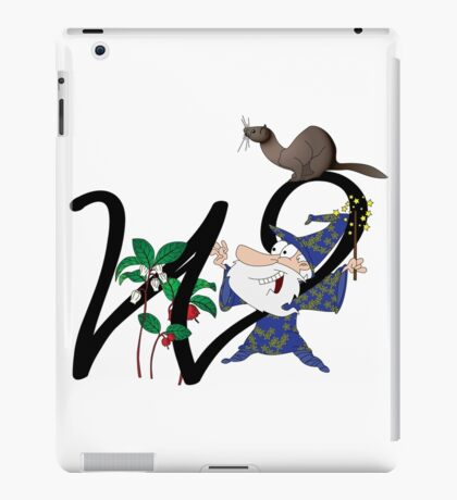 W is for... iPad Case/Skin