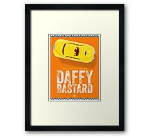 Cinema Obscura Series - Fifth Element - Taxi Framed Print