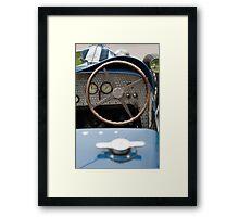 Bugatti Dashboard Framed Print