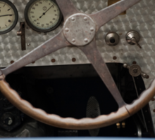 Bugatti Dashboard Sticker