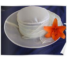 Wedding Hat Poster