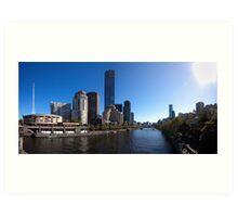 Melbourne Pano 01 Art Print