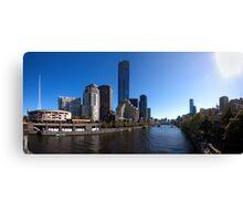 Melbourne Pano 01 Canvas Print