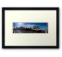 Melbourne Pano 02 Framed Print