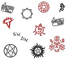 Supernatural Sigils and Symbols by LeaGerard