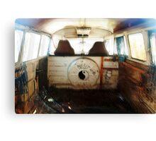 VW combi 1964 misfit trip Canvas Print