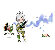 Riven Singed & Teemo fan art by JeanMich1