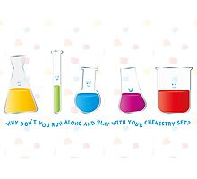 Play with your chemistry set Photographic Print