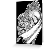 Beasty! Greeting Card