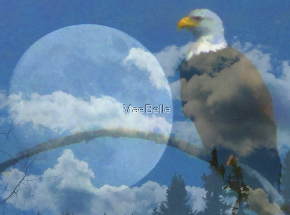 Spirit of the Moon Eagle   by MaeBelle
