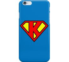 Super K iPhone Case/Skin