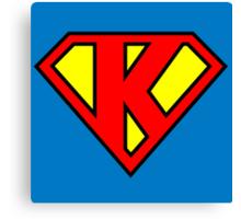 Super K Canvas Print