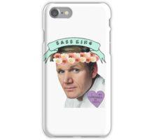 Gordon Ramsay Flower Crown Sass iPhone Case/Skin