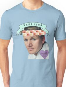 Gordon Ramsay Flower Crown Sass Unisex T-Shirt