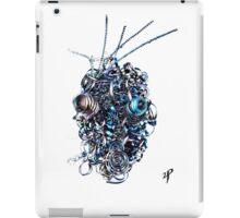 Metal Head Industrial Sculpture iPad Case/Skin