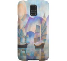 Shades of Tranquility - Cubist Junks Samsung Galaxy Case/Skin