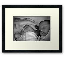 Fatherhood Framed Print