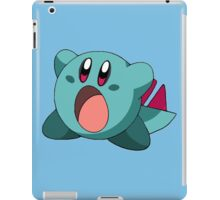 When Kirby meets Totodile iPad Case/Skin