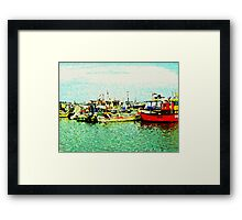 Harbour Haven Framed Print