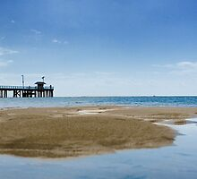 Point Lonsdale Jetty by James Cole