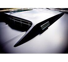 Mustang hood Photographic Print