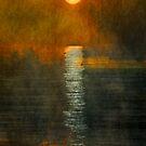Atlantic Ocean. Moonlight by nellievin