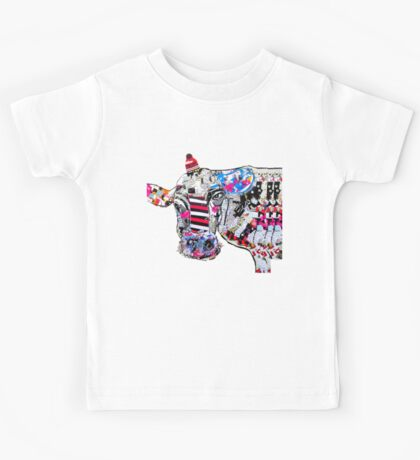 cow in new york  Kids Tee