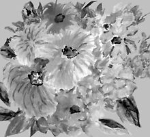 Mountain Flowers 3 by Thecla Correya