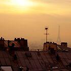 Montmartre Dusk by S T