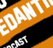 So Pedantic Logo Sticker