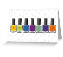 Happy nails Greeting Card