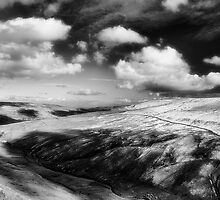 View from Buttertubs Pass by clickinhistory
